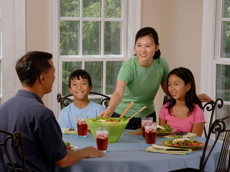 Adelgazamiento en familia